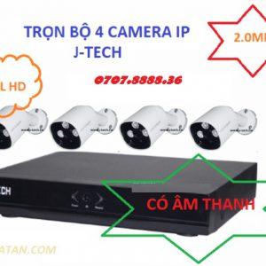 Trọn bộ 4 mắt camera IP 2.0 có tiếng
