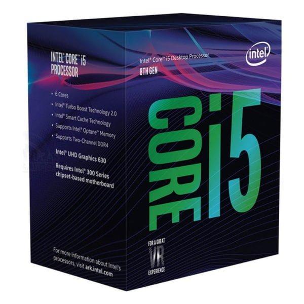 Bộ vi xử lý/ CPU Intel Core i5-8600 (9M Cache, up to 4.3GHz)