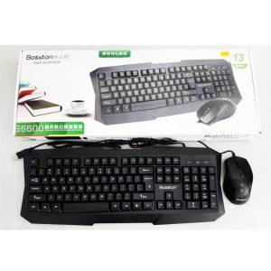 Combo bàn phím và chuột Bosston S6600
