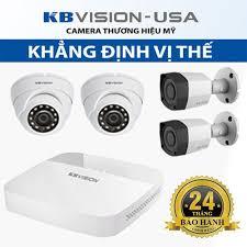 Trọn bộ 1-4 camera 4MP KBVISION