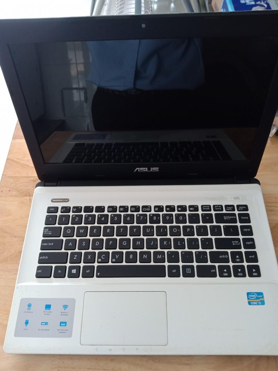 Asus K45VD Corei5-3210M, RAM 6GB, HDD 500GB